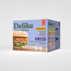 Hamburguesa Vegetariana Del Bosque Delike