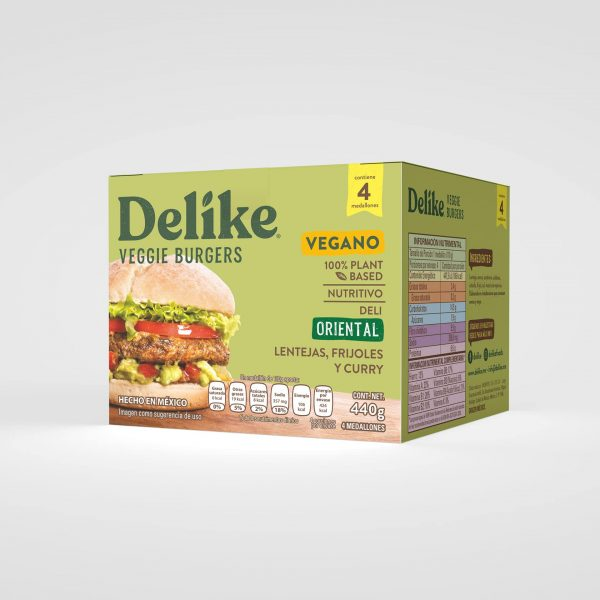 Hamburguesa Vegetariana Oriental Delike