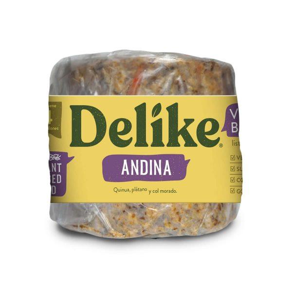 Hamburguesa Vegana Andina Delike