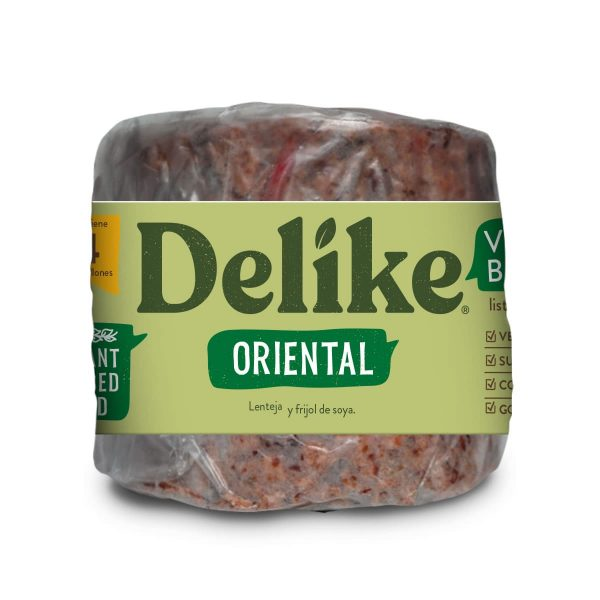 Hamburguesa Vegana Oriental Delike