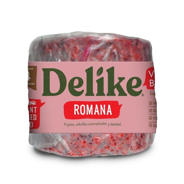 Hamburguesa Vegana Romana Delike
